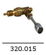 320 015 robinet eau chaude