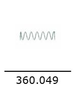 360049 ressort de valve europiccola