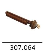 307064 resistance 1350w 230v bezzera