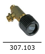 307103 robinet eau bezzera prof express