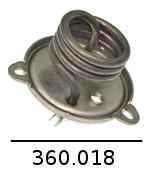 360018 - résistance 1000w 230v